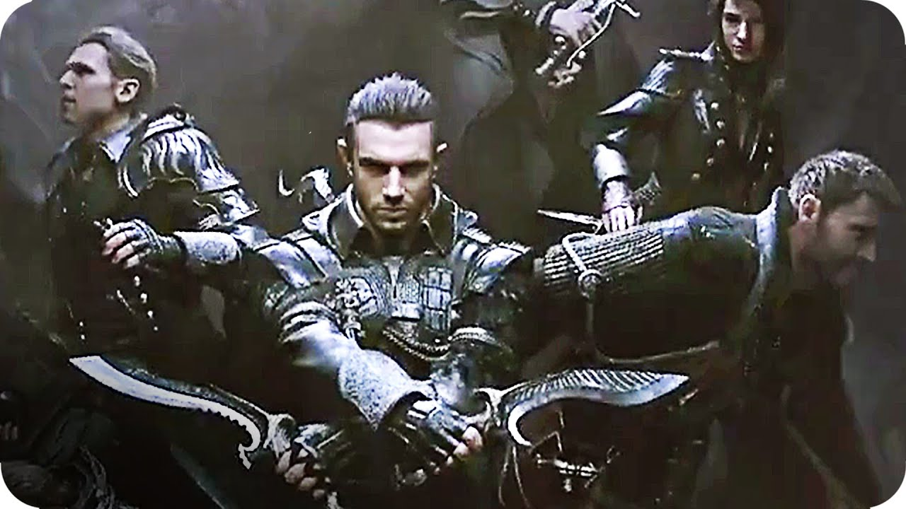 FINAL FANTASY XV KINGSGLAIVE Trailer E3 US 2016 Final Fantasy Movie