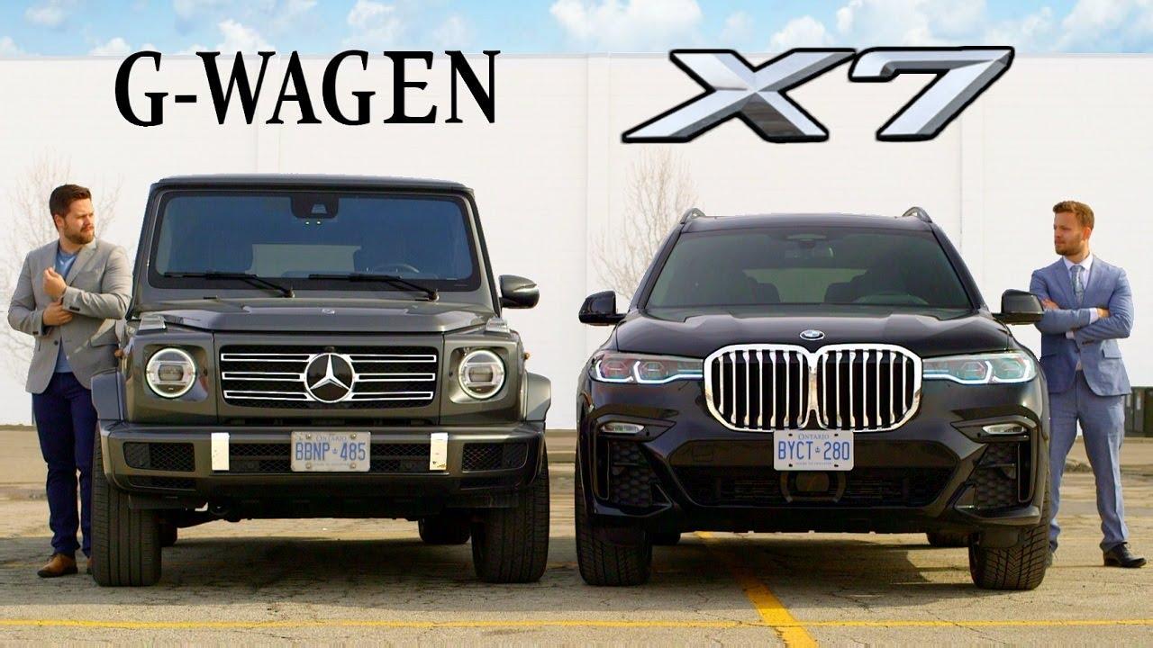 Súboj titánov: 2019 BMW X7 vs. Mercedes G-Class!