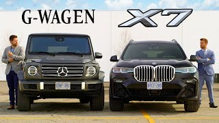 Download 2019 BMW X7 vs Mercedes G-Class // Battle Of The Ballers Mp3 and Videos