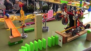 The Brains in Motion Machine (from the 2017 Strong Museum Domino Toppling)