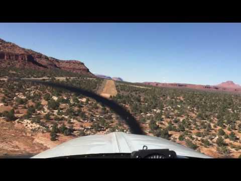 Landing at Fry Canyon