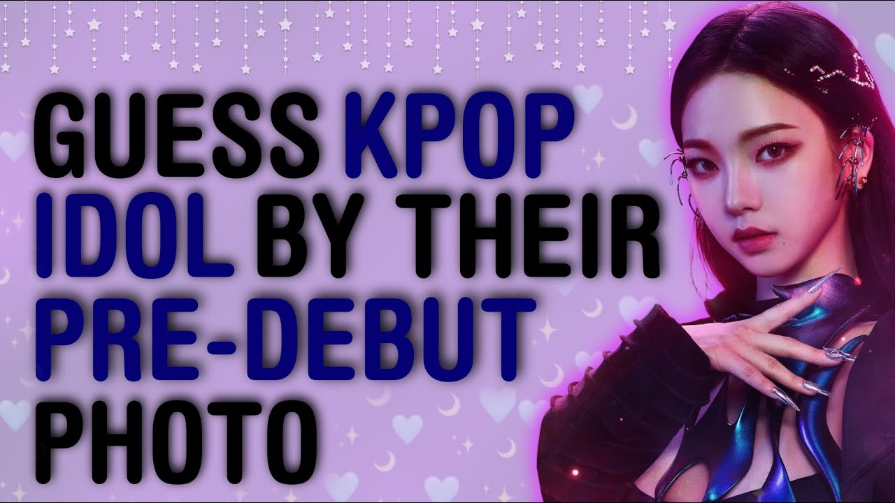 CAN YOU GUESS THE KPOP IDOL BY THEIR PREDEBUT PICTURE? | THIS IS KPOP GAMES