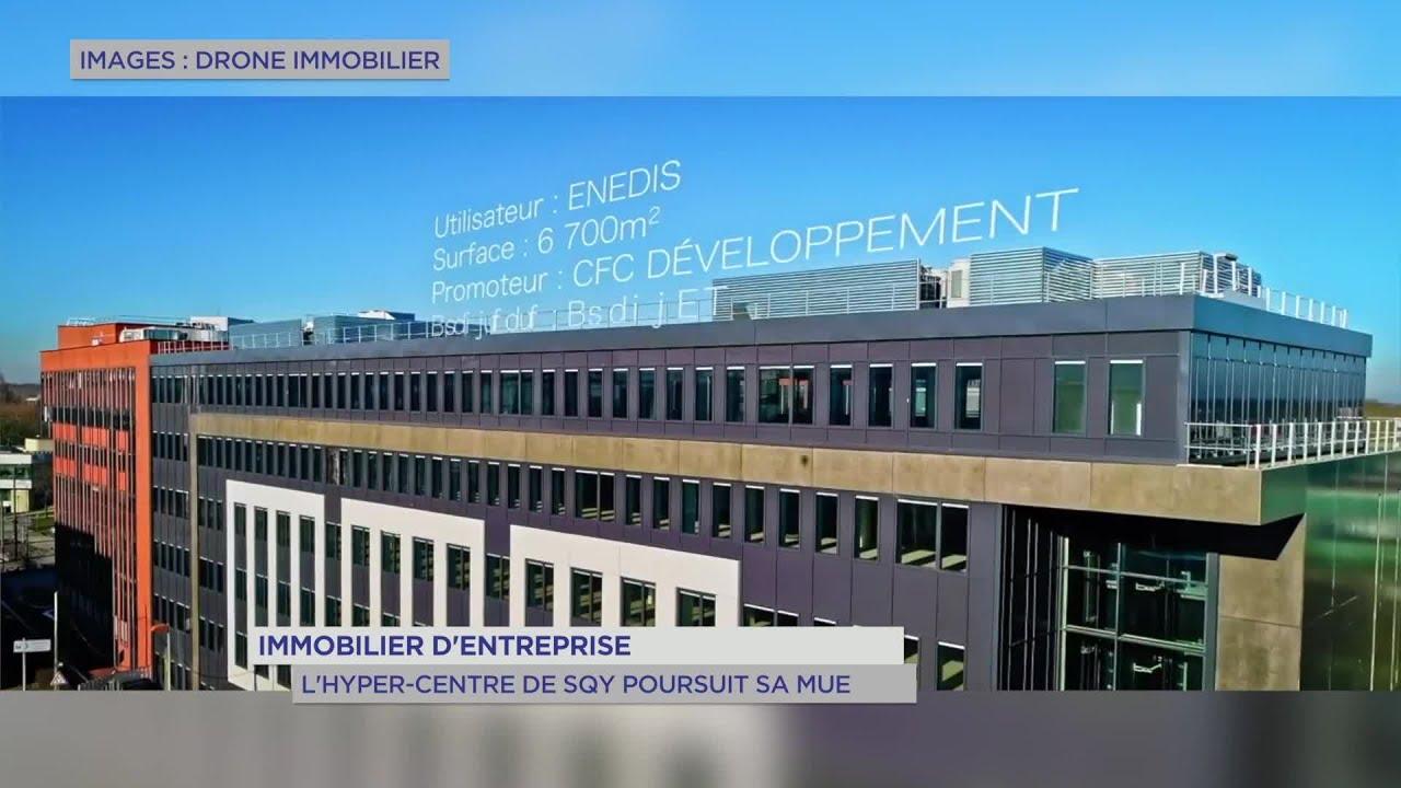 Yvelines | Immobilier d'entreprise : l'hyper-centre de SQY poursuit sa mue