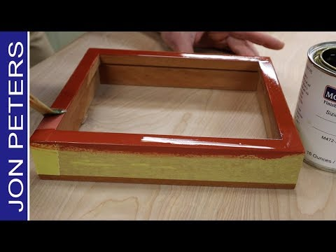 How To Use Gold Leaf to Gild A Frame