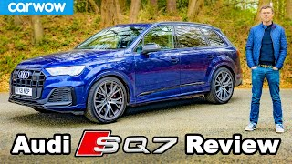 Audi SQ7 review - a supercar with 7 seats?