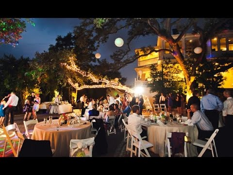 Night Garden Wedding Ideas YouTube