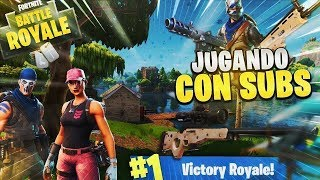 JUGANDO CON SUBS!!! DIRECTO FORTNITE PS4 EN VIVO AHORA  | +1320 WINS | FORTNITE BATTLE ROYAL