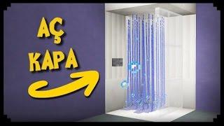 ✔Minecraft - Çalışan Banyo Nasıl Yapılır?