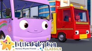Wheels On The Bus Song + More Nursery Rhymes & Kids Songs - Little Baby Bum