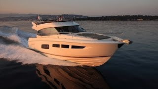 On Board the Prestige 550 with Owner, Michael Port