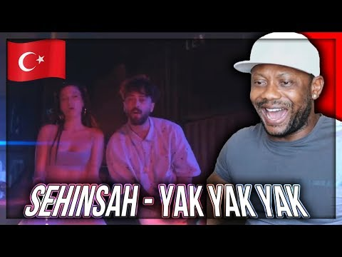 Şehinşah - Yak Yak Yak (Prod. by Bugy) | Official Video TURKISH RAP/TRAP  REACTION!!!