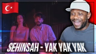 Şehinşah - Yak Yak Yak (Prod. by Bugy) | Official Video TURKISH RAP/TRAP  REACTION!!!