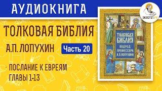 Толковая Библия. А.П. Лопухин. Новый Завет. Часть 20.