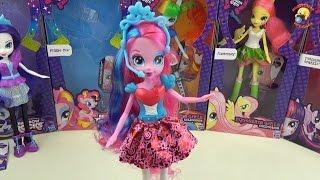 Пинки Пай - кукла пони из коллекции Rainbow Rocks, MLP «Equestria Girls»