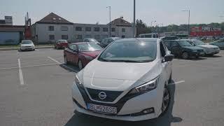 Autonómne parkovanie Nissan Leaf