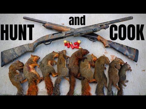 Hunt N' Cook Tasty Wild SQUIRRELS!