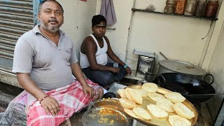 Kolkata Famous Hara Matter Puri | Indian Street Food