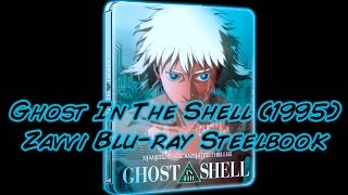 Ghost In Ths Shell (1995) Zavvi Blu-ray Steelbook (U.K.) With 24 Page Booklet | Unboxing