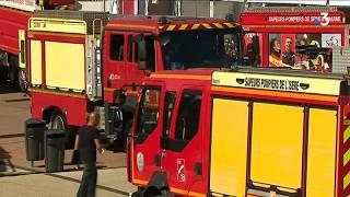 Préparatifs congrès national des sapeurs-pompiers  à Bourg-en-Bresse