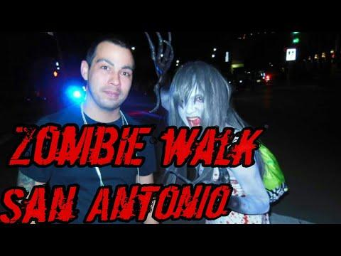 Zombie Walk San Antonio Downtown 2017