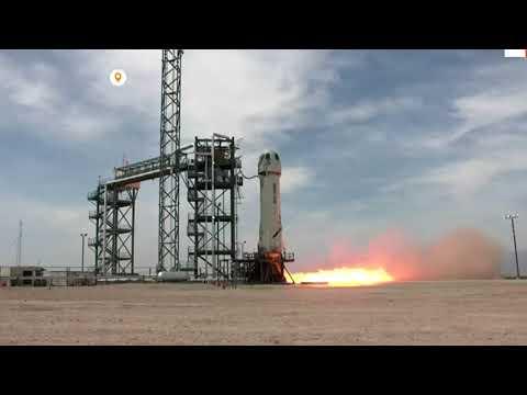 Successful test flight for Blue Origin's rocket