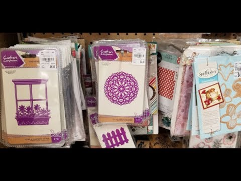 Live at Tuesday Morning-Come Browse The Craft Aisles With Me-Crafters Companion & Spellbinders
