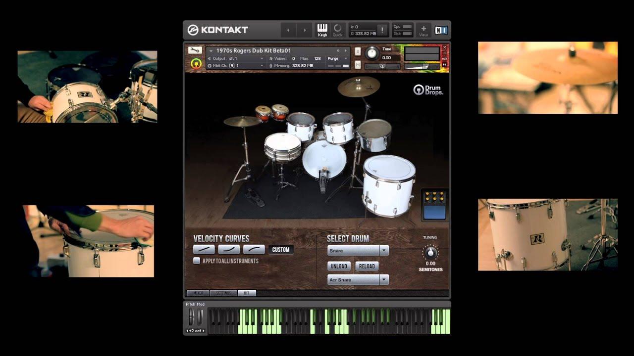 Drumdrops Drums Bundles KONTAKT Library Download