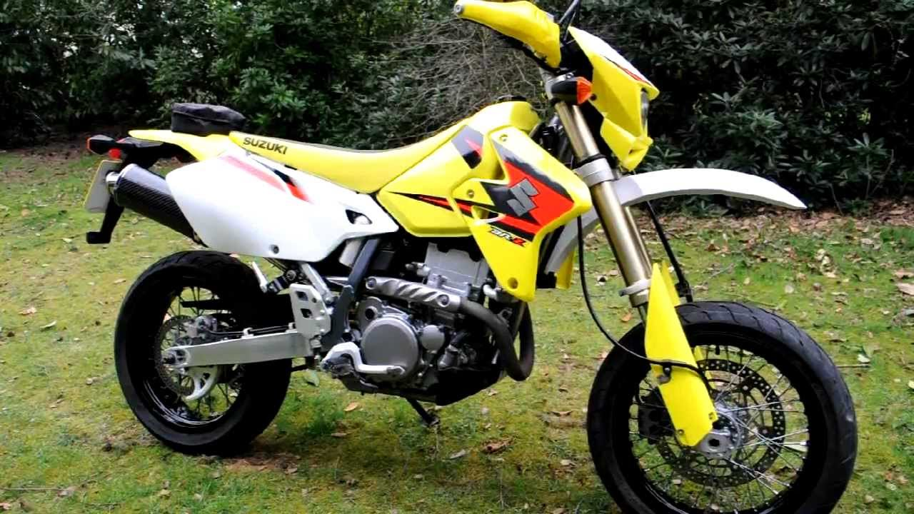 suzuki drz 400 sm 2005 avi youtube. Black Bedroom Furniture Sets. Home Design Ideas
