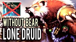 900 Range Imba Lone Druid without Bear 850 GPM Gameplay Patch 7.00 Dota 2