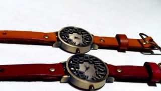 Оригинальные женские наручные часы(Видео обзор оригинальных женских наручных часов с кожаным ремешком Посмотреть и купить весь ассортимент..., 2013-12-07T16:04:35.000Z)