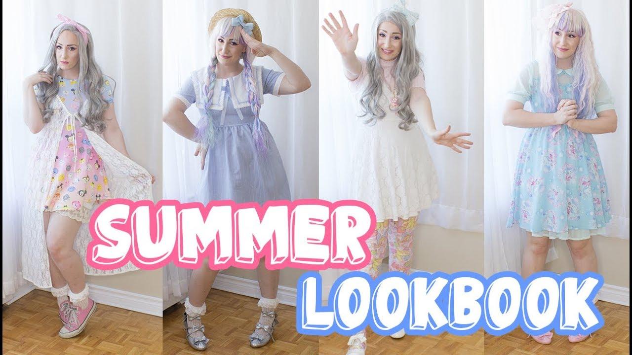 Kawaii Summer Lookbook | Shopping Advice | 8 Pastel Outfits! 9