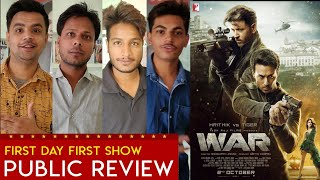 War Movie Review, Hrithik Roshan, Tiger Shroff, War First Day First Show review, War Public Review