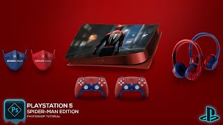 PlayStation 5 Customization | Spider-Man Edition
