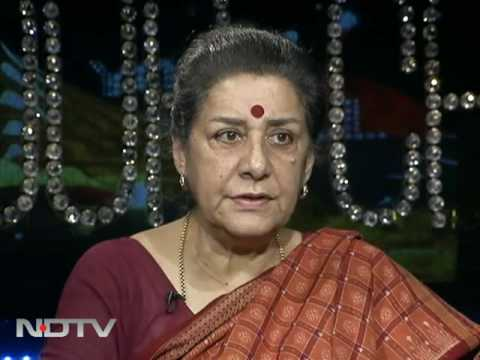 Ambika Soni unhappy with TV shows