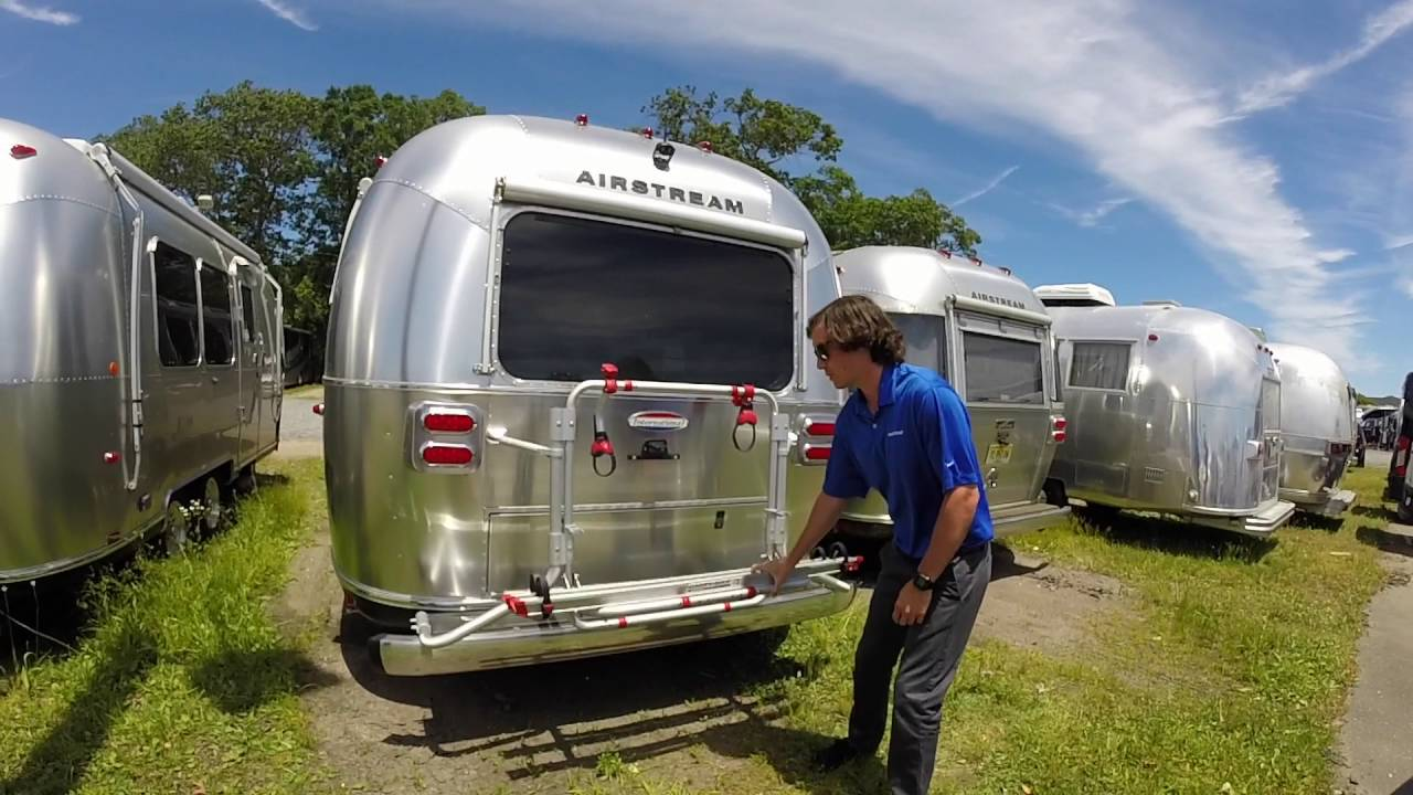 Q Amp A With Colonial Airstream Amp Rv Bicycle Racks Youtube