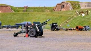Gun Fire at Fort Nelson 2015