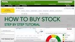 How to buy stock on Fidelity