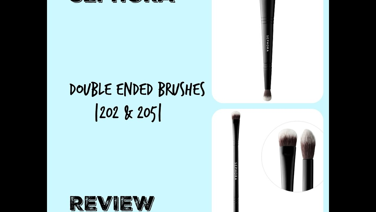 Classic Double Ended - Shadow & Crease #205 by Sephora Collection #4