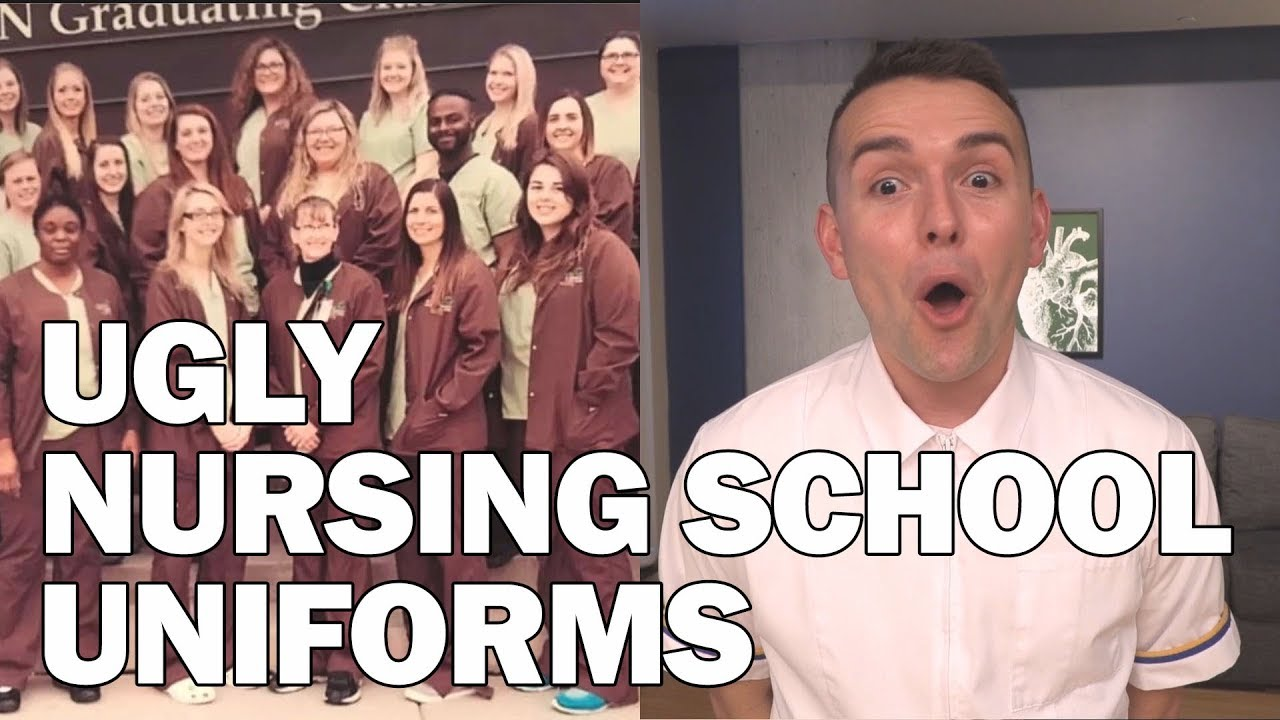 UGLY Nursing School Uniforms!