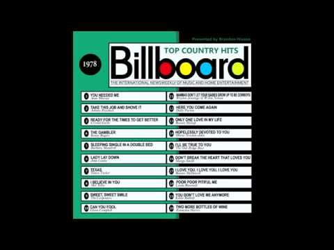Billboard Top Country Hits - 1978