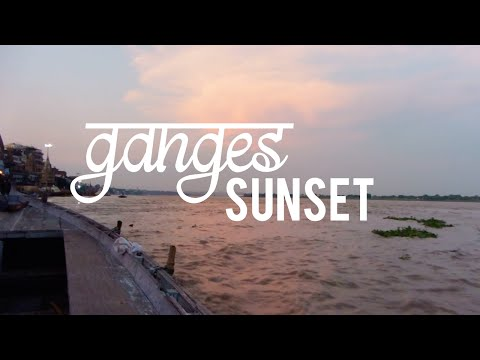 SUNSET ON THE GANGES | Varanasi, India #6