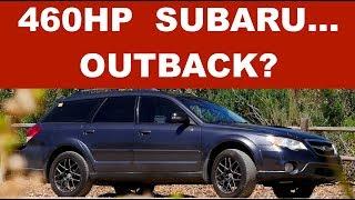 460hp Subaru...Outback? - One Take