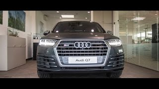 Audi SQ7 (435 HP) - design selection interior