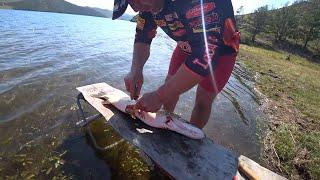 Рыбалка на Байкале Часть 2 Готовим сочные котлеты по Сибирски из Щуки