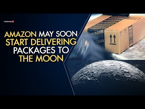 [Science -Transportation] Amazon to start delivering packages to the MOON !