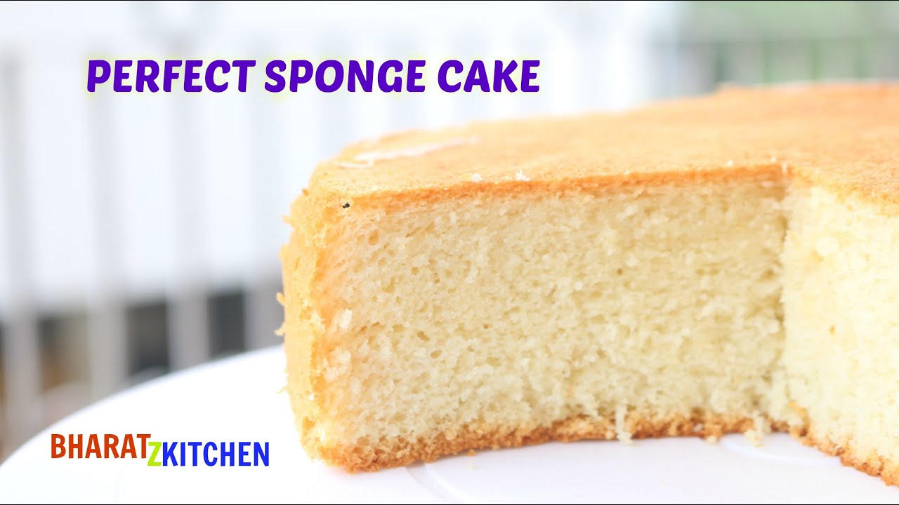 Vanilla sponge cake simple recipe