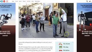 Big Quake - 7.2M -  Sways buildings / Evacuations in S Mexico - Quake Watch Update
