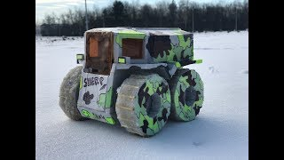 DIY Wild Russian RC off-roader Sherp - Amazing Toy