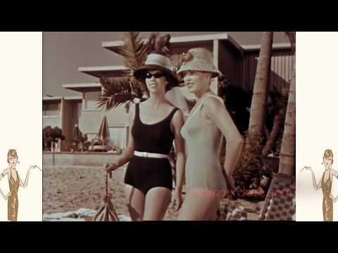 1960's Swimwear Fashion Film