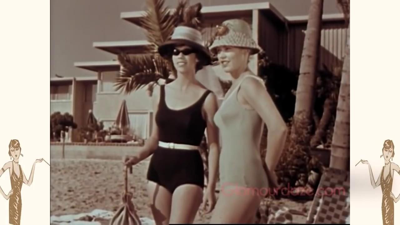 ecd975ed6e 1960's Swimwear Fashion Film - YouTube